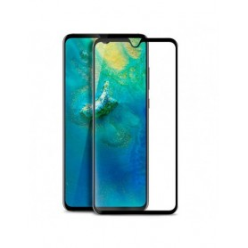 Cristal Templado Completo Negro Huawei Mate 20