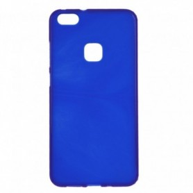Funda Silicona Simple Azul Huawei P10 Lite