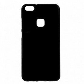Funda Silicona Simple Negro Huawei P10