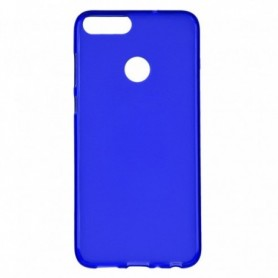Funda Silicona Simple Azul Huawei P Smart