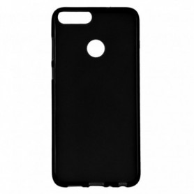 Funda Silicona Simple Negro Huawei P Smart