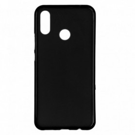 Funda Silicona Simple Negro Huawei P Smart Plus