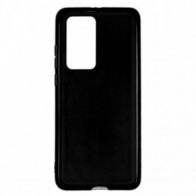 Funda Silicona Simple Negro Huawei P40 Pro