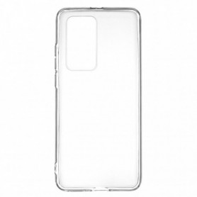 Funda Silicona Simple Transparente Huawei P40 Pro