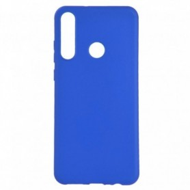 Funda Silicona Simple Azul Huawei Y6p