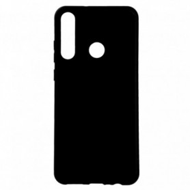 Funda Silicona Simple Negro Huawei Y6p