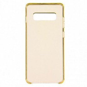 Funda Silicona Simple Dorado Galaxy S8+