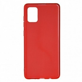 Funda Silicona Simple Rojo Galaxy A52