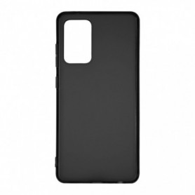 Funda Silicona Simple Negro Galaxy A52