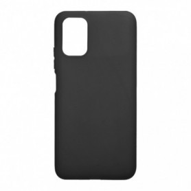 Funda Silicona Simple Negro Xiaomi Redmi 9T
