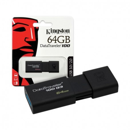 Kingston DT100G3 USB 64 GB  tipo A 3.1
