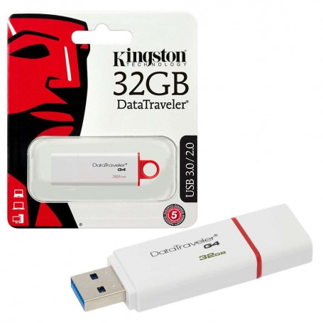 Kingston DT USB 32 GB  tipo A 3.1