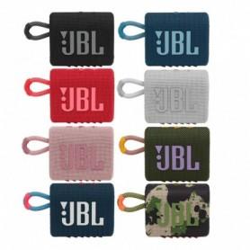 JBL GO 3 - Altavoz inalámbrico portátil con Bluetooth