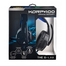 The G-Lab KORP100 auricular y casco