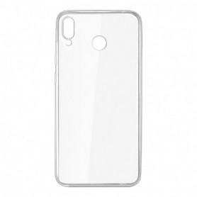 Huawei P Smart Plus - Silicona Simple Transparente