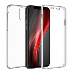 Xiaomi Note 9 - Funda 360 Transparente