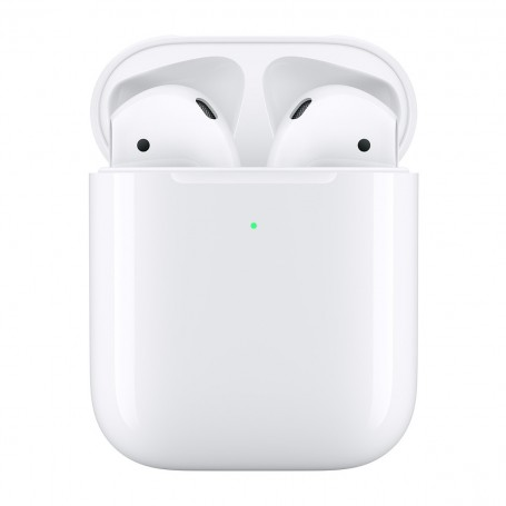 Apple AirPods 2 - con estuche de carga inalámbrica
