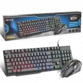 MTK Kit Gaming teclado y ratón Retroiluminado