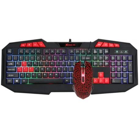 Xtrike Me Gaming Combo teclado y ratón Retroiluminado