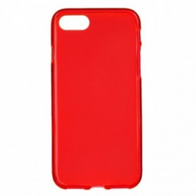 Funda Silicona Simple Rojo iPhone SE | iPhone 8 | iPhone 7