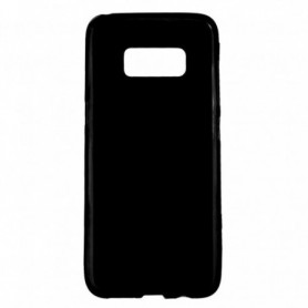 Funda Silicona Simple Negro Galaxy S8+