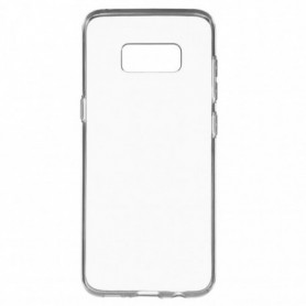 Funda Silicona Simple Transparente Galaxy S8