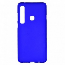 Funda Silicona Simple Azul Galaxy A9 2018