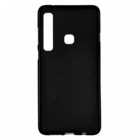 Funda Silicona Simple Negro Galaxy A9 2018