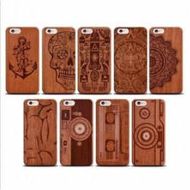 Funda Madera Fantasia Galaxy A7 2018