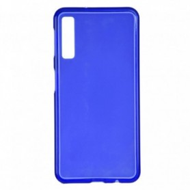 Funda Silicona Simple Azul Galaxy A7 2018