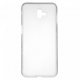 Funda Silicona Simple Transparente Galaxy J6+ 2018