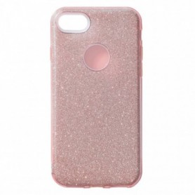 Funda Silicona Brillante Rosa Galaxy J4+ 2018