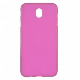 Funda Silicona Simple Rosa Galaxy J7 2017