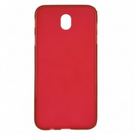Funda Silicona Simple Rojo Galaxy J7 2017