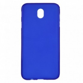 Funda Silicona Simple Azul Galaxy J7 2017