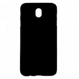 Funda Silicona Simple Negro Galaxy J7 2017