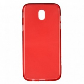 Funda Silicona Simple Rojo Galaxy J5 2017