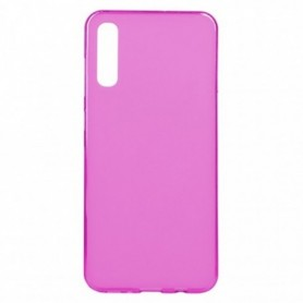 Funda Silicona Simple Rosa Galaxy A70