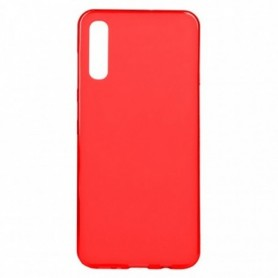 Funda Silicona Simple Rojo Galaxy A70