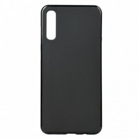 Funda Silicona Simple Negro Galaxy A70