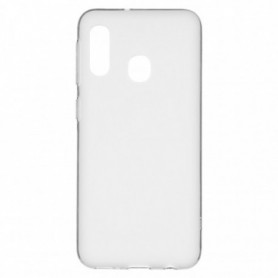 Funda Silicona Simple Transparente Galaxy A20e