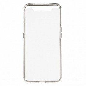 Funda Silicona Simple Transparente Galaxy A80