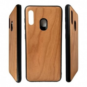 Funda Madera Liso Claro Galaxy Note 20 Ultra