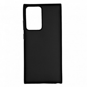 Funda Silicona Simple Negro Galaxy Note 20 Ultra