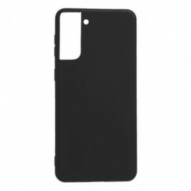 Funda Silicona Simple Negro Galaxy S21