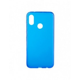 Funda Silicona Simple Azul Xiaomi Mi 8