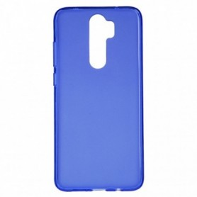Funda Silicona Simple Azul Xiaomi Redmi Note 8 Pro