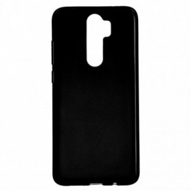 Funda Silicona Simple Negro Xiaomi Redmi Note 8 Pro