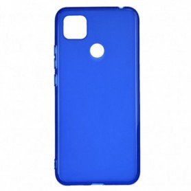 Funda Silicona Simple Azul Xiaomi Redmi 9C